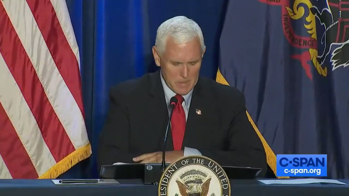 Vice President @Mike_Pence: Pennsylvania lost 51,000 manufacturing jobs while Joe Biden was Vice President