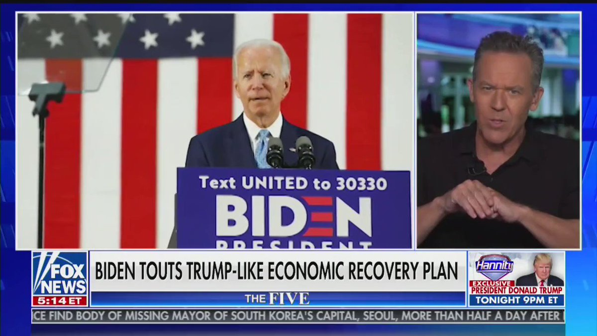 """Joe Biden doesn't believe in """"America first"""" – he can't even remember how to say it!"""