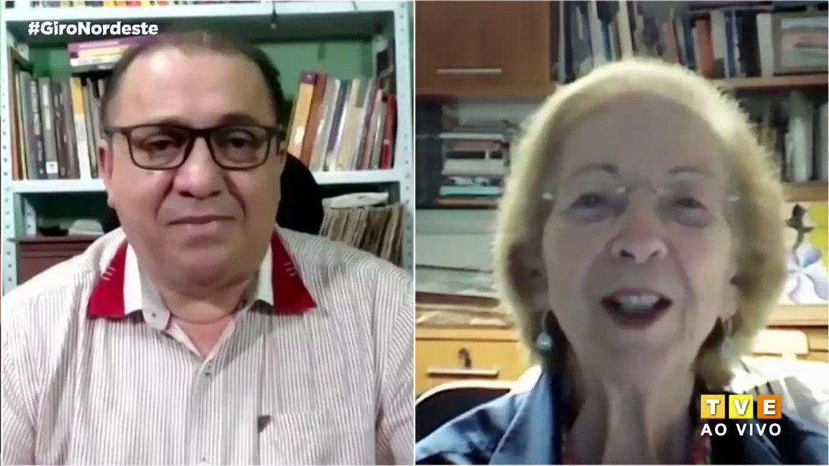 """""""Em vez de desmontar o estado brasileiro, a gente precisa reestruturar""""  A economista Tânia Bacelar comenta sobre as políticas econômicas adotadas pelo ministro Paulo Guedes, as quais julga não serem efetivas a médio prazo. #GiroNordeste #TVEBahia"""