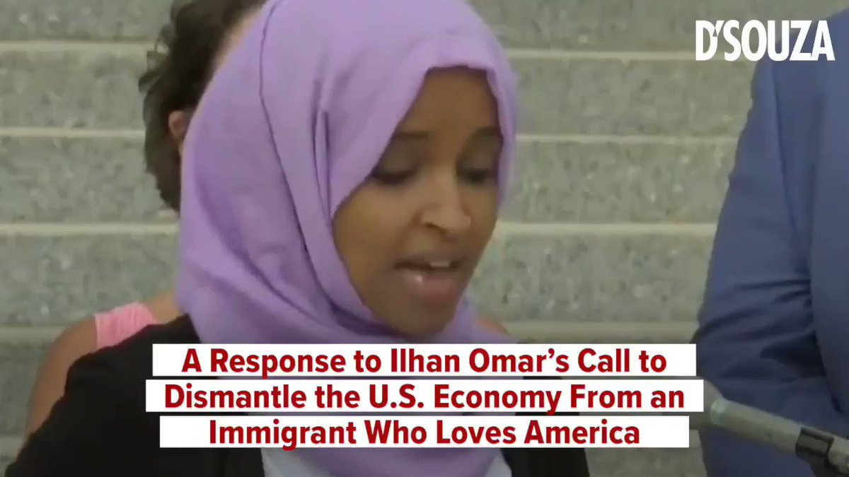 """When Ilhan Omar talks about """"dismantling"""" the system, she really shows her hand."""