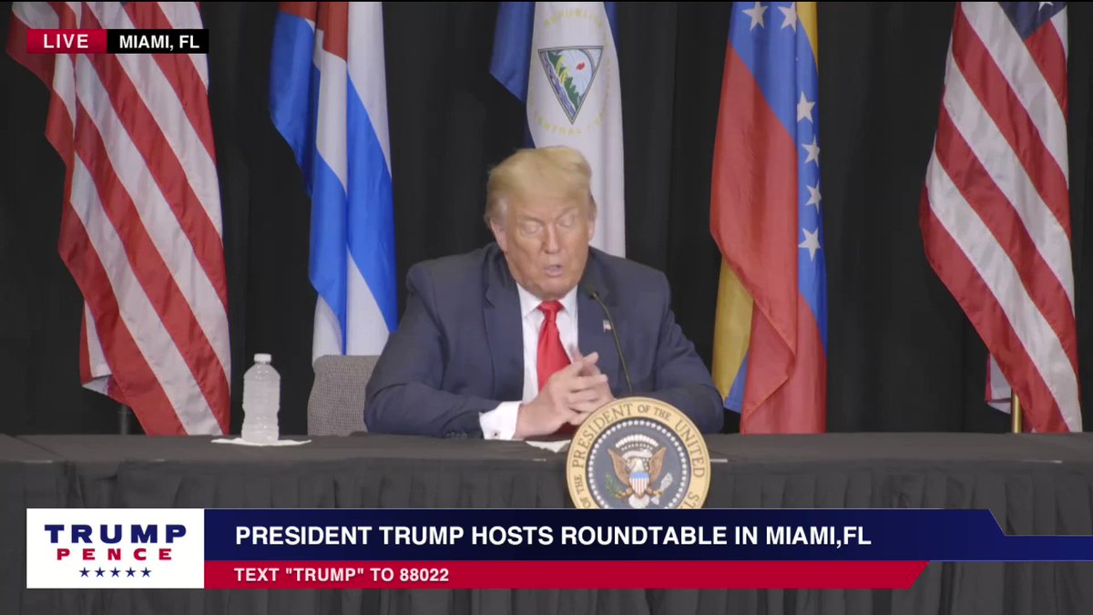 President @realDonaldTrump: We are standing with the rightful leader of Venezuela, @jguaido
