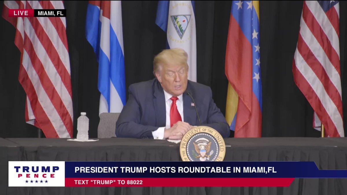 President @realDonaldTrump: I ended the Obama-Biden sellout to the Castro regime in Cuba