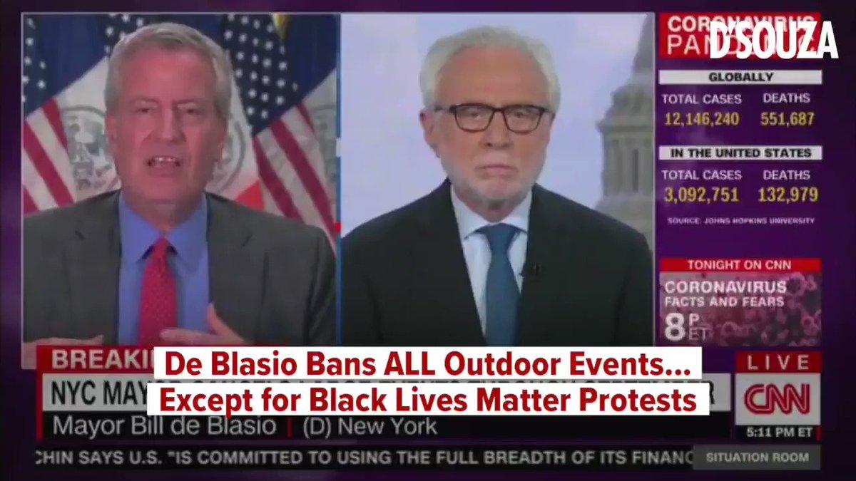 Is there a bigger pandering hypocrite than NYC Mayor Bill de Blasio?