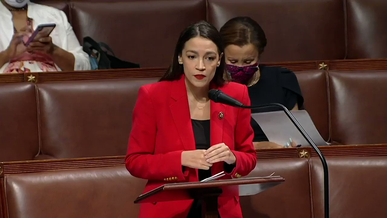 """AOC: """"I am two years younger than Mr Yoho's youngest daughter. I am someone's daughter too. My father, thankfully, is not alive to see how Mr Yoho treated his daughter.""""   AOC excoriates Rep Ted Yoho after he called her a """"f---ing b---h"""" on the steps of the Capitol. https://t.co/cpuq0sX4rT"""