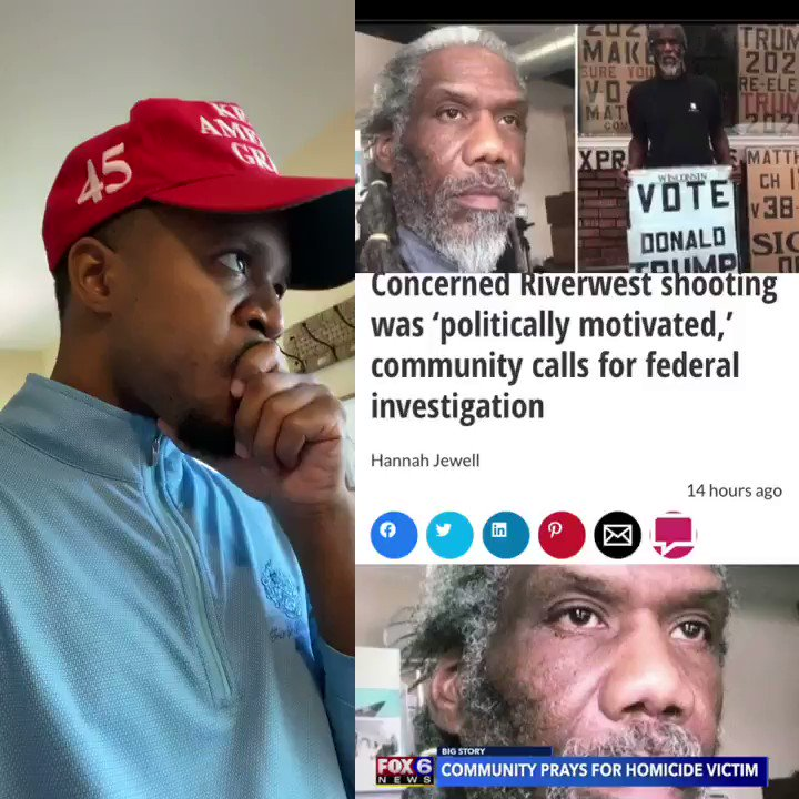 HEARTBREAKING 💔  A 60 year old Black Trump Supporter was murdered in cold blood all because he support President @realDonaldTrump   This is a Hate Crime  He deserves Justice   Let's make his name trend  Use 👉 #JusticeForBernellTrammell