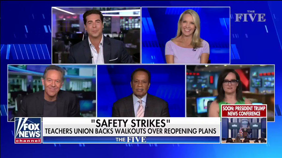 """""""The President is not sending your child to a Wuhan Wet Market to learn."""" #TheFive"""