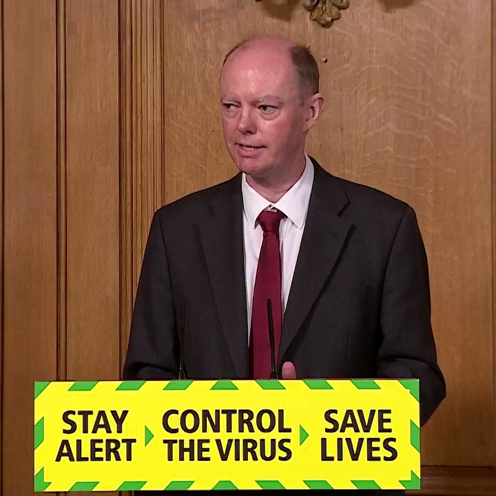 """""""We have probably reached the limit of what we can do in terms of opening up as a society.""""  England's Chief Medical Officer warns against easing Covid restrictions too soon, saying """"the idea that we can open up everything and keep the virus under control is clearly wrong""""."""