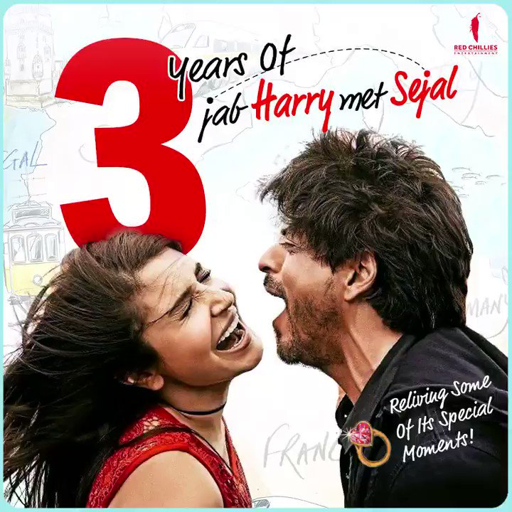 The question and the answer. ✨ The pain and the cure. 💫 The destination and the journey. ⚡  #3YearsOfJHMS #JabHarryMetSejal