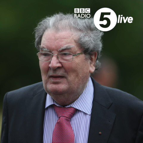 """""""He was our Martin Luther King""""  Maeve Connelly from Derry passionately pays tribute to Nobel Peace Prize winner and prominent Northern Ireland politician John Hume, who died yesterday aged 83.  #5LiveBreakfast  📱"""
