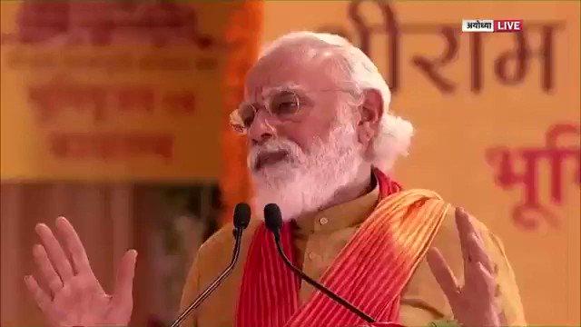 राम समय, स्थान और परिस्थितियों के हिसाब से बोलते हैं, सोचते हैं, करते हैं। राम हमें समय के साथ बढ़ना सिखाते हैं, चलना सिखाते हैं।  राम परिवर्तन के पक्षधर हैं, राम आधुनिकता के पक्षधर हैं। उनकी इन्हीं प्रेरणाओं और आदर्शों के साथ भारत आज आगे बढ़ रहा है।