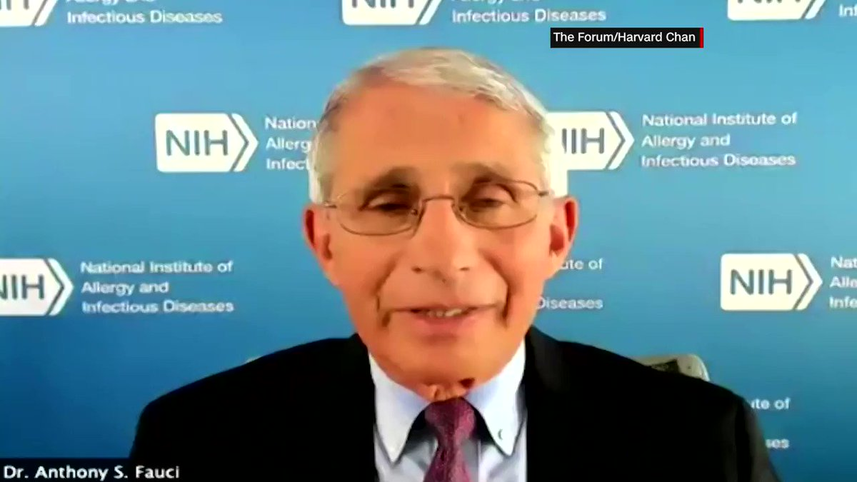 """Dr. Anthony Fauci: """"There is a degree of anti-science feeling in this country."""""""