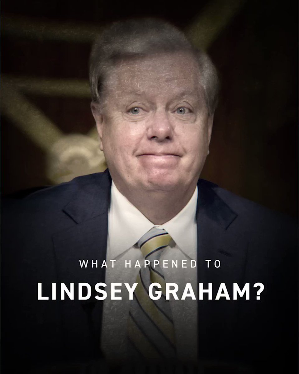 Lindsey Graham: refuses to extend Covid unemployment assistance or fight for working families.   Also Lindsey Graham: spends nearly $1M on private planes and golf, gives himself 3 pay raises.  🤔🤔