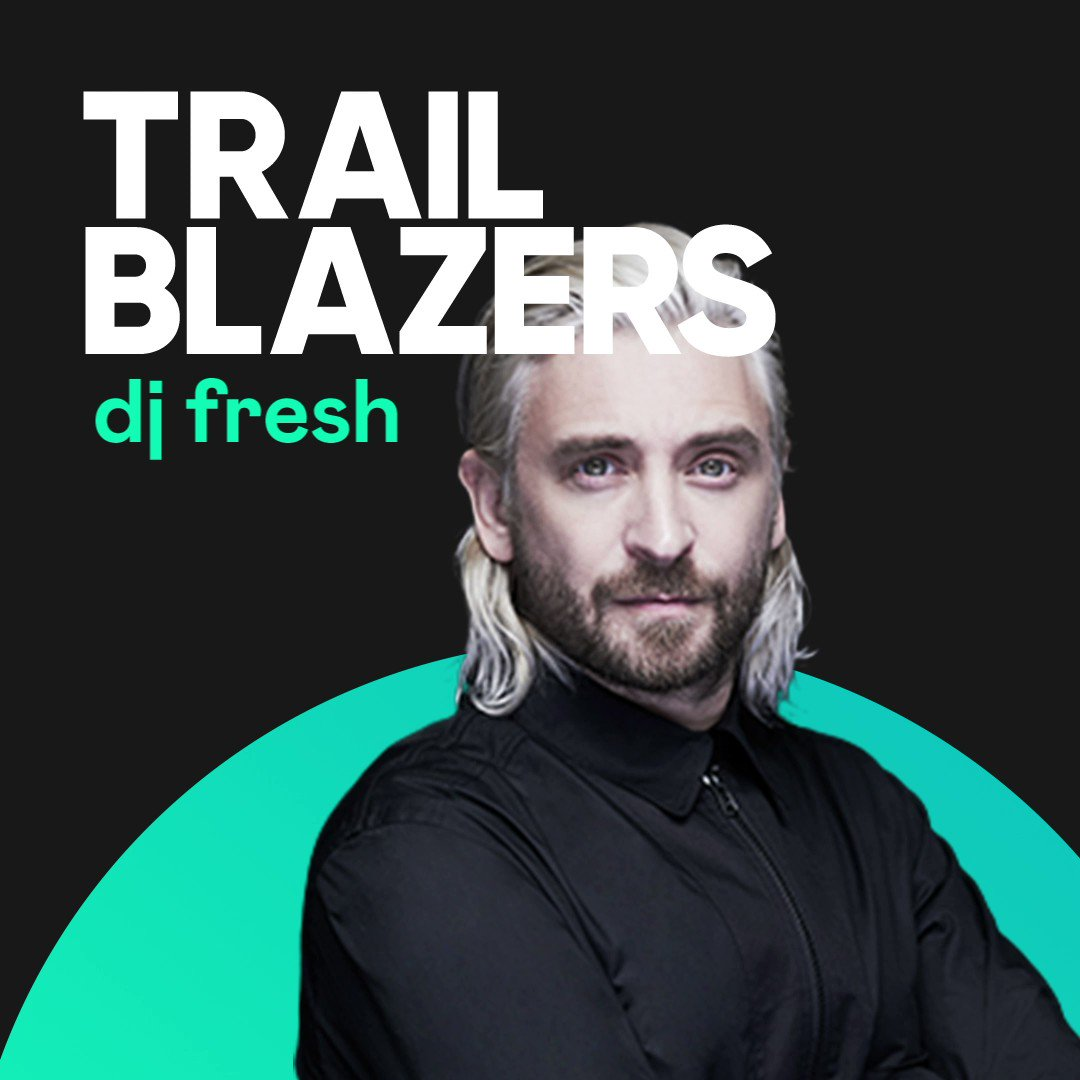 One for the drum 'n' bass fans! @DJFreshUK breaks down his amazing story in the latest episode of our Trailblazers podcast. Listen now on Deezer.
