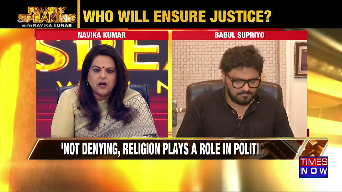 West Bengal has been economically deprived in the last 40 years: Union Minister @SuPriyoBabul tells Navika Kumar on #FranklySpeakingWithSupriyo.