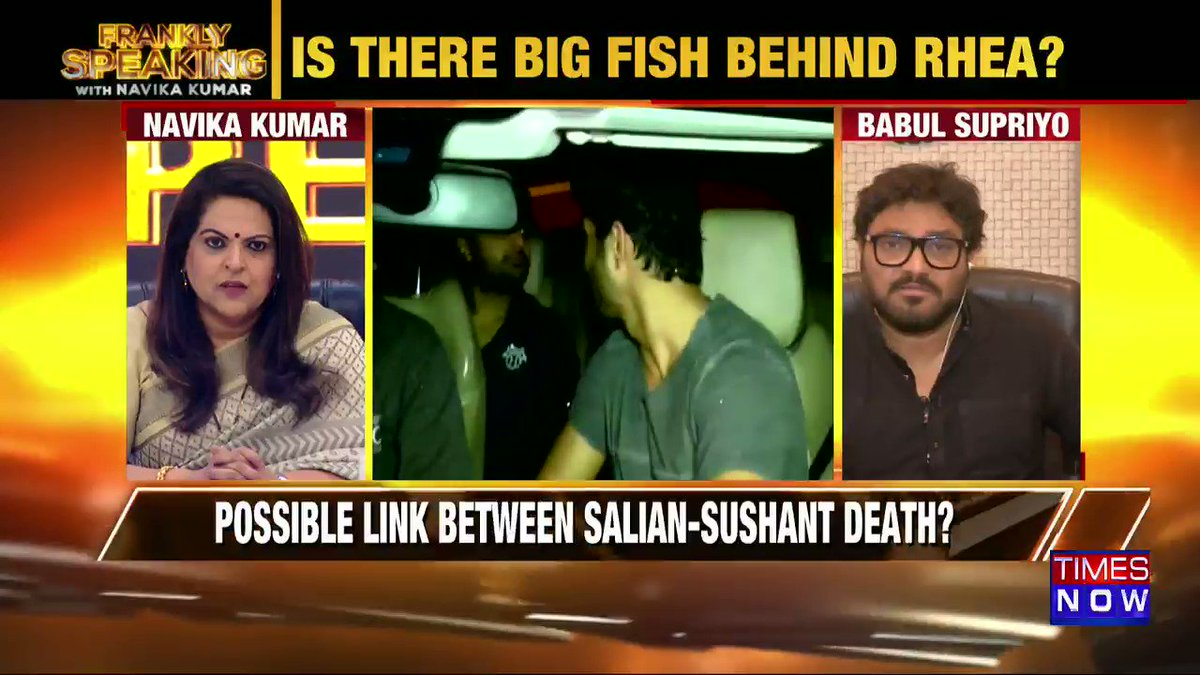 Most testimonies in Sushant's case are hearsay: Union Minister @SuPriyoBabul tells Navika Kumar on #FranklySpeakingWithSupriyo.