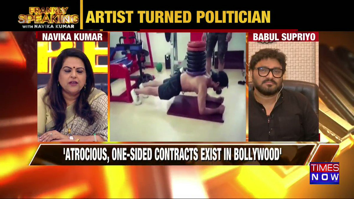 A lot of the area around Sushant's death appears grey, Mumbai Police needs to throw some light there: Union Minister @SuPriyoBabul tells Navika Kumar on #FranklySpeakingWithSupriyo.
