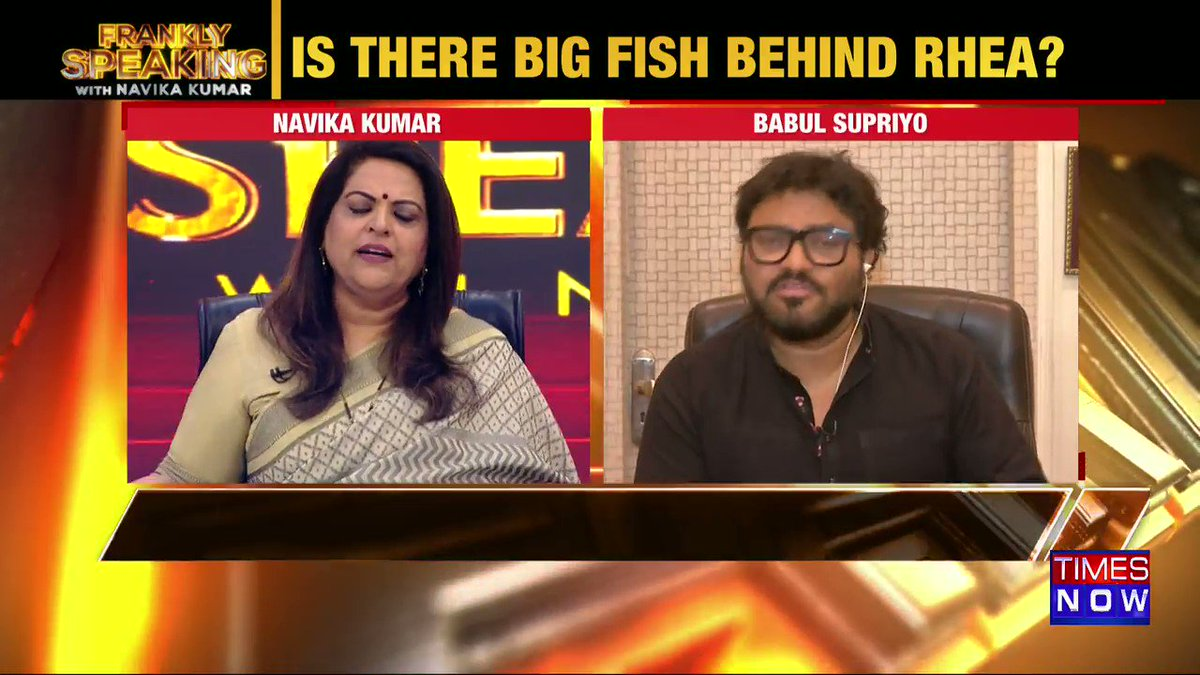 These are open facts that underworld has funded many films: Union Minister @SuPriyoBabul tells Navika Kumar on #FranklySpeakingWithSupriyo.