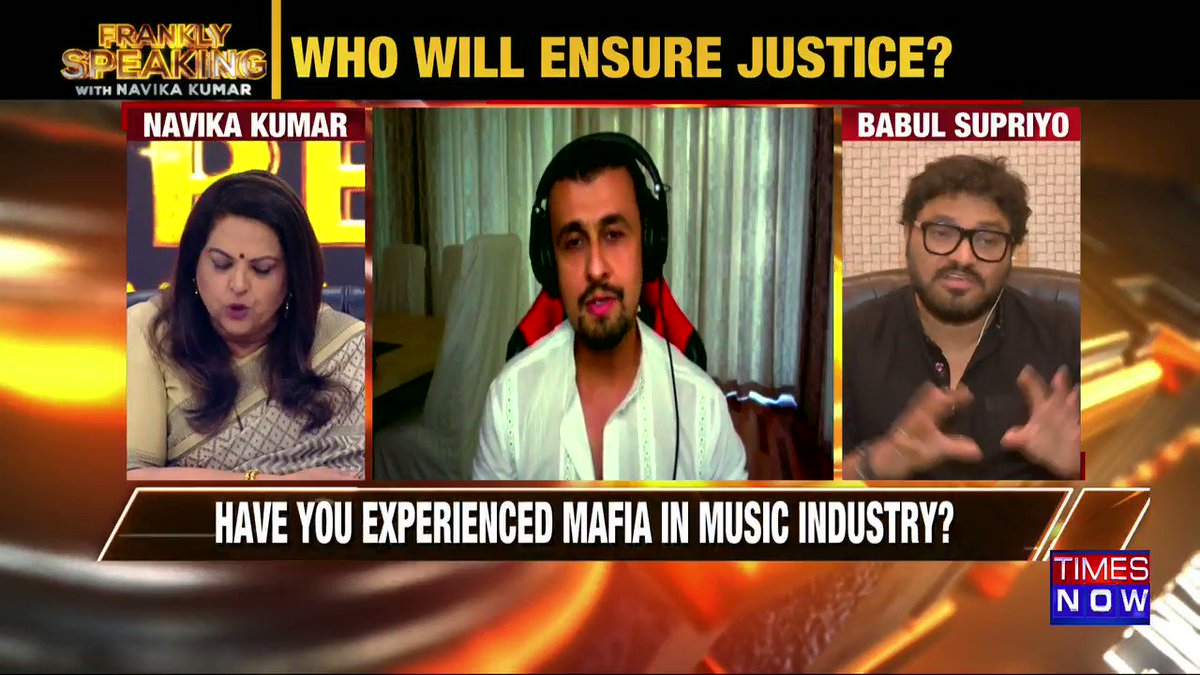 People play games when they are in power & Sonu Nigam knows this better than I do: Union Minister @SuPriyoBabul tells Navika Kumar on #FranklySpeakingWithSupriyo.