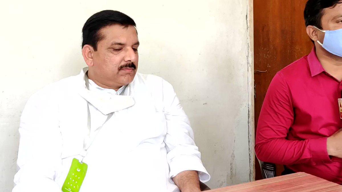 भाजपा वोट बैंक के लिए दलित को राष्ट्रपति तो बना सकती है मगर दलित को भूमि पूजन में नही बुला सकती।