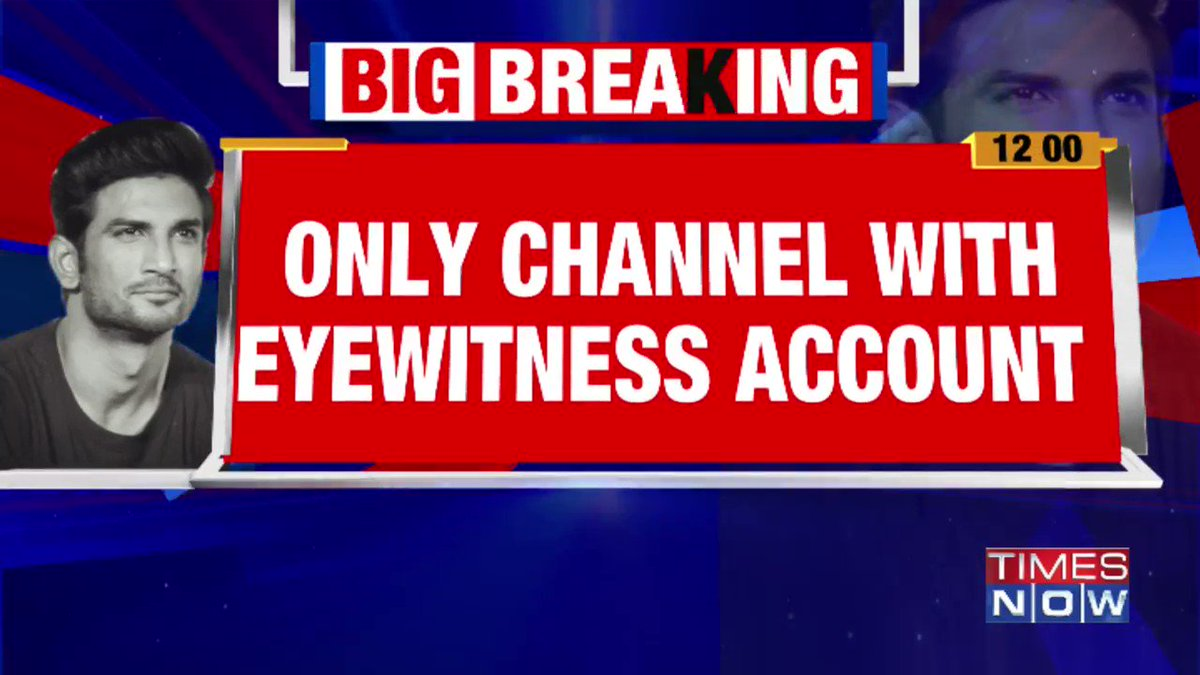 #Exclusive | TIMES NOW speaks to ambulance attendant who saw Sushant's body. Following are his claims:   •Sushant's body had turned yellow •There were marks on his leg •Both his legs were bent  Details by Aruneel.