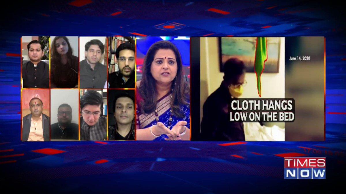 Nobody targeted Rhea Chakraborty. The family came out and lodged the FIR formally: @ishkarnBHANDARI, Advocate tells Navika Kumar on @thenewshour. | #SushantMurderQuestion