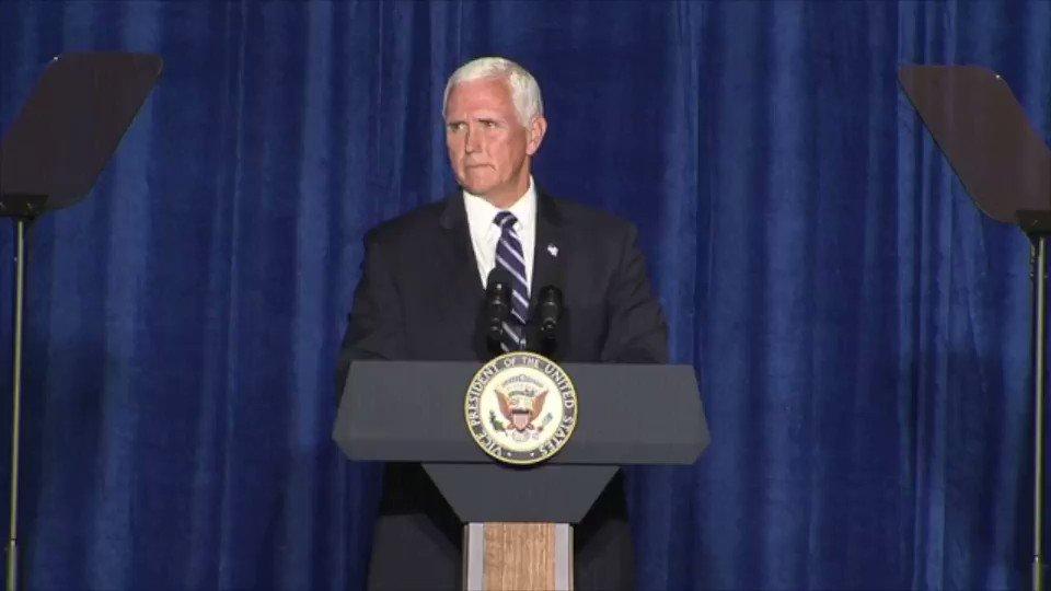 "VP Mike Pence: ""Joe Biden believes that America in his words is 'systemically racist' and that law enforcement has 'implicit bias' against minorities."""