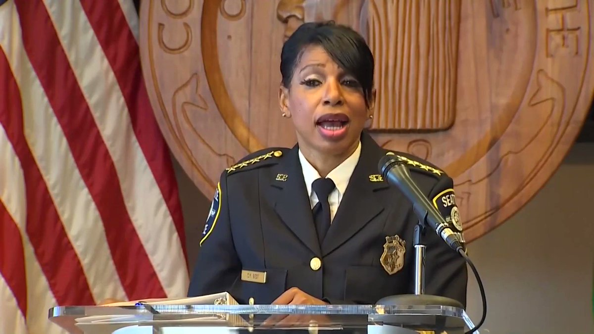 WATCH: Resigning Seattle police chief Carmen Best reads a letter from a police officer who will likely lose his dream job on the police force thanks to the radical left's hatred towards law enforcement.    Joe Biden is too weak to stand up to the liberal mob!