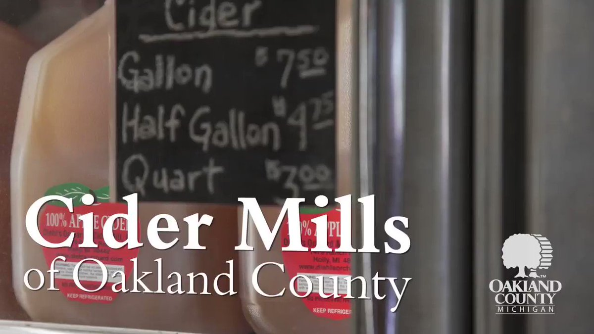 Happy #InternationalAppleDay! 🍎 Celebrate apple day by sipping on some delicious apple cider from one of the cider mills in #OaklandCounty. See our interactive map & list before you head out for cider, donuts, and fun!