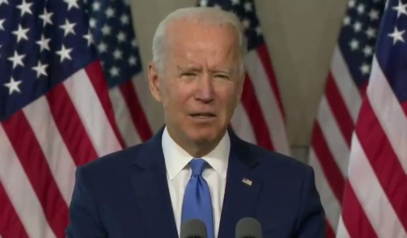 "Joe Biden: ""Even if President Trump wants to put forward a name now -- the Senate should not act until after the American people select their next president."" https://t.co/tWcA3iuAvC"