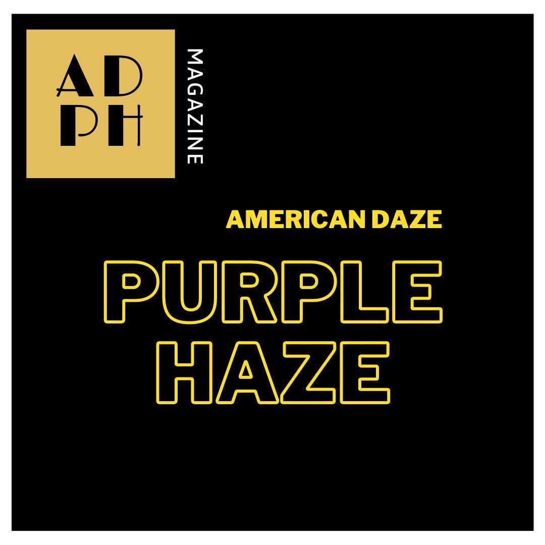 American Daze Purple Haze - cover