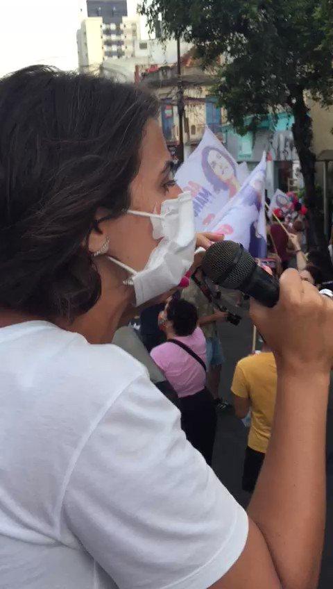 Vai ter prefeita! A futura prefeita @manueladavila quer uma Porto Alegre para as pessoas. Quer a mudança para dar vida digna para o povo. Amanhã, vamos às urnas vencer o ódio e a intolerância! #AgoraÉManuela65 #vira65