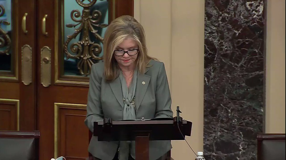 """Sen. Marsha Blackburn: """"This is an administration attempting to impose their socialist vision on a country that cannot sustain the cost."""""""