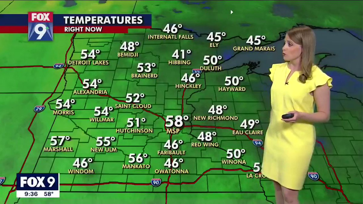 FOX 9 Weather Reporter Jennifer McDermed Multiplies on Live TV after Graphics Glitch