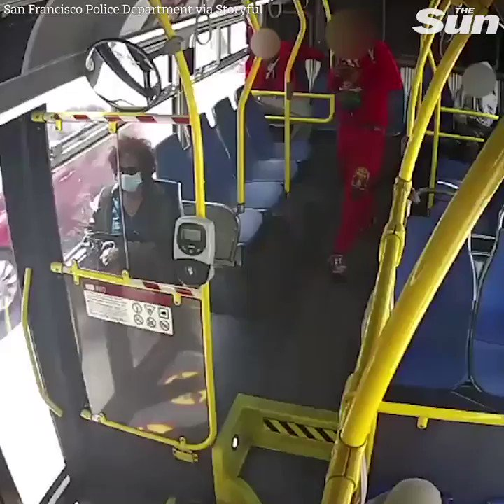 Teenager set woman's hair on fire inside San Francisco bus