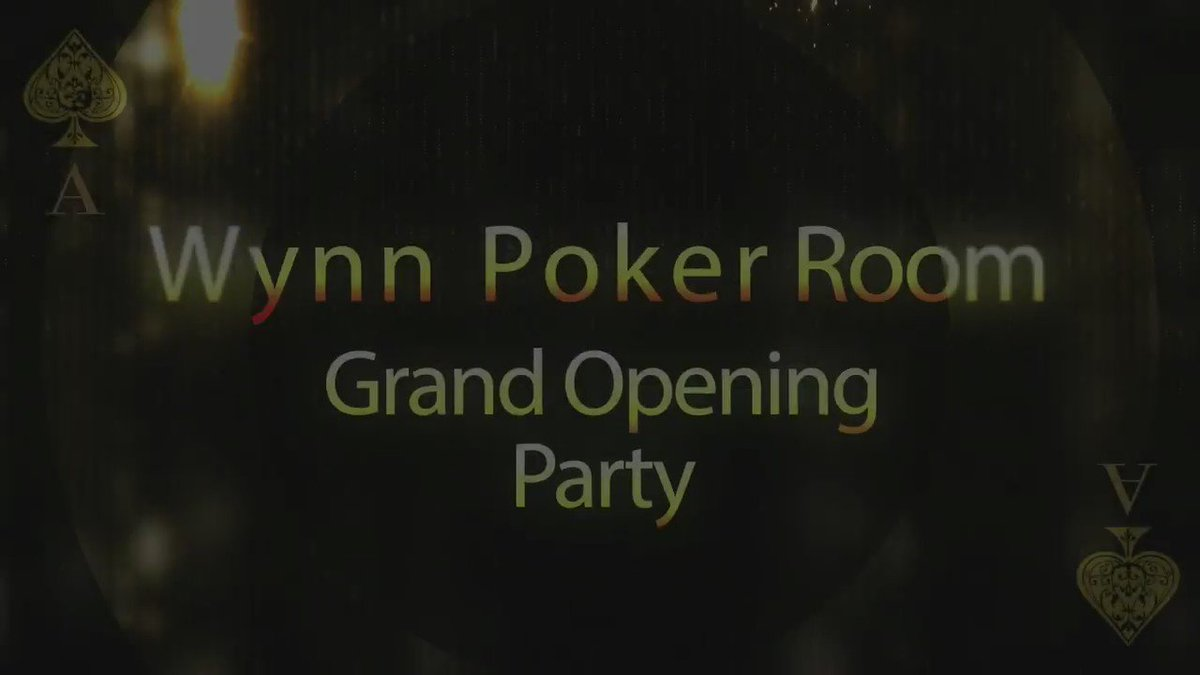 This weekend we launched the all-new #WynnPoker Room with special guests and a five star experience. #Vegas https://t.co/R9bwLjcp1g