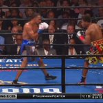 Porter hurts Thurman with a couple of painful shots to the body in round 8! https://t.co/8rp6cXjRmu