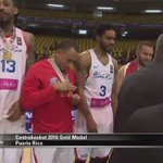 ¡Puerto Rico recibe las medallas de campeón del #Centrobasket2016! https://t.co/QszbD2hQYP