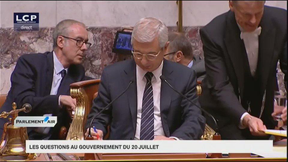La lourde change d'Yves Nicollin contre @manuelvalls #EtatdUrgence #DirectAN #Nice https://t.co/3dsHbePzoM