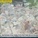 Aerial footage shows the devastating impact and destruction of the 6.2 #ItalyEarthquake https://t.co/O2lUkXpEGw https://t.co/k9HNOGGqtO