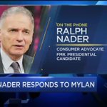 """Consumer advocate Ralph Nader on EpiPen controversy: """"Basically this is greed on steroids."""" https://t.co/7x8N63dvR7 https://t.co/kj0hw9DrID"""