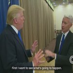 """Trump in interview with @AndersonCooper: """"We're going to deport many people."""" https://t.co/T6NGn0ILPO https://t.co/dCe49SIkLs"""