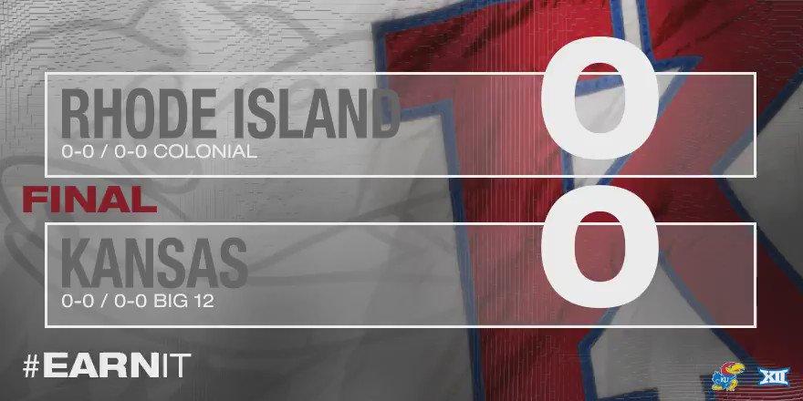 JAYHAWKS WIN!!! #kufball defeats Rhode Island 55-6 #RockChalk https://t.co/l47vsejsd1