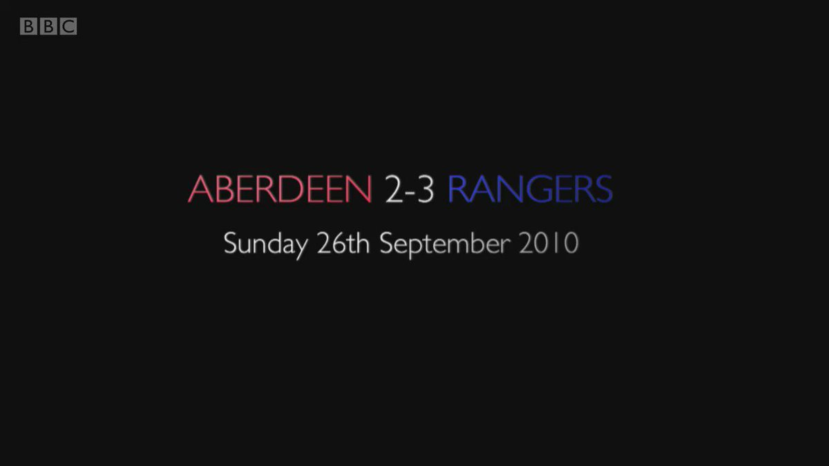 Aberdeen take on Rangers this weekend.  Can you remember this match from 26th September 2010?  #bbcsportscot https://t.co/m0unn6630V