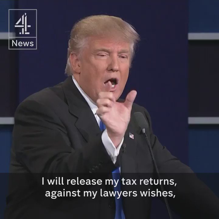 Donald Trump Says He Will Release His Tax Returns When