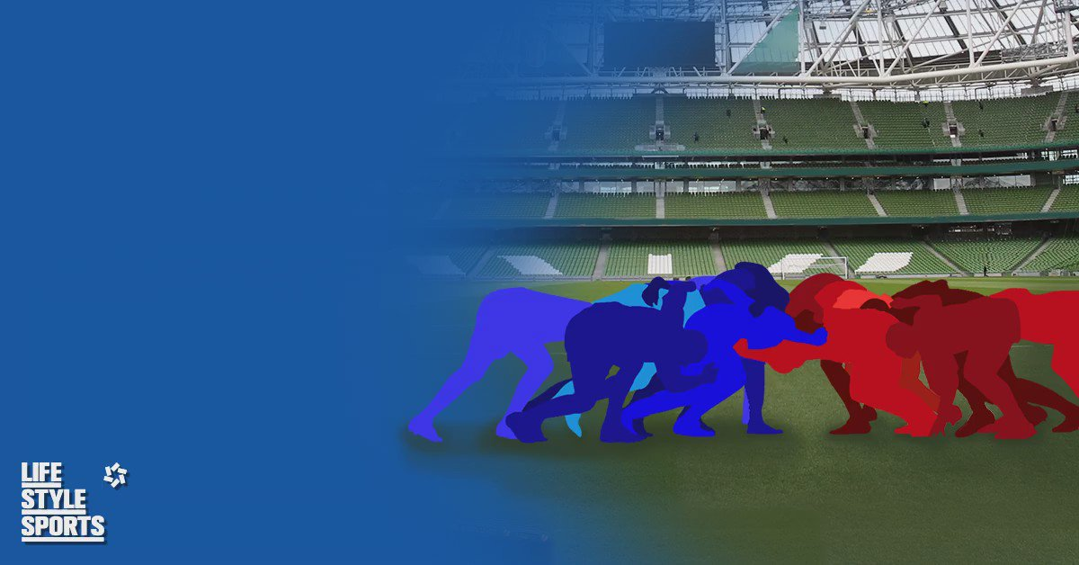 Leinster v Munster at the Aviva - this is tribal! Which side are you on? Tweet #LeinsterBlue or #MunsterRed https://t.co/GSqolMcE5m