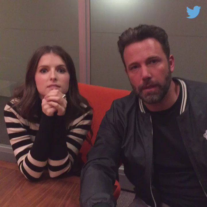 I'm here with @annakendrick47! #AskBenandAnna @itunestrailers @accountantmovie https://t.co/Q3MZhPHKKM