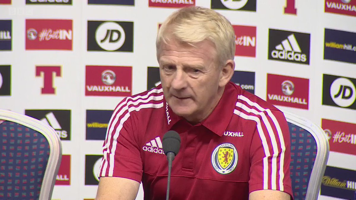 We tried asking your questions, but Scotland manager Gordon Strachan wasn't up for it #bbcsportscot https://t.co/PlCfjaUWGH