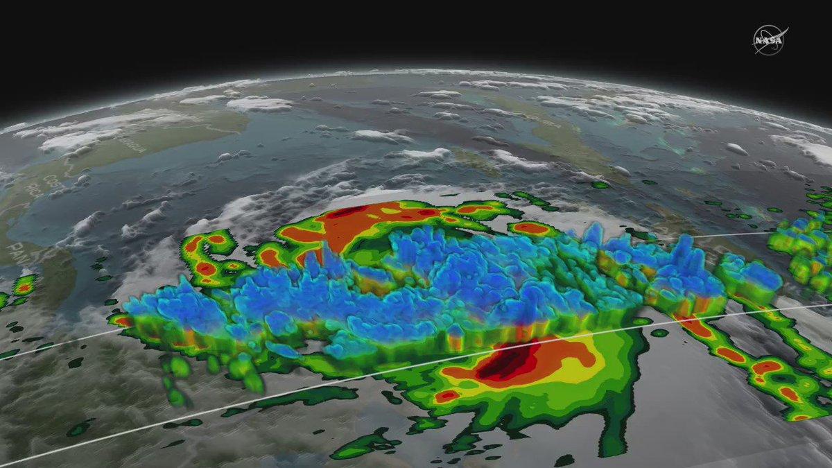 .@NASA_Rain's GPM core satellite captures 3-D views of Hurricane Matthew https://t.co/rtuuRKFTNU https://t.co/FP4EOksYDQ