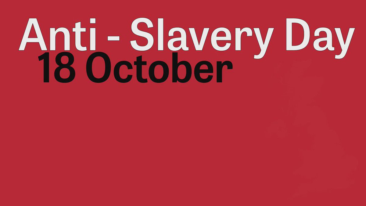 Today is #AntiSlaveryDay. Find out more about #modernslavery and how to report it: https://t.co/CzBBdzGXLO https://t.co/OvnJ9xLisL