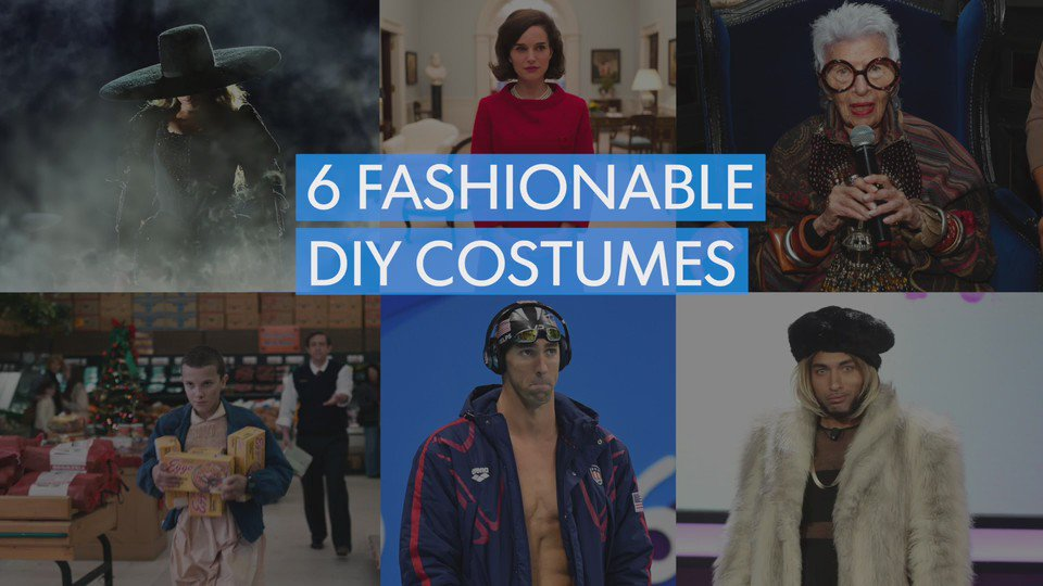 Still need a Halloween costume? Here are six ideas based on pop culture icons from 2016.